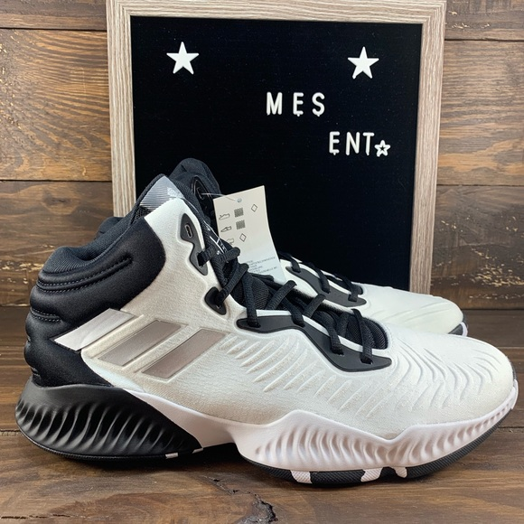 cheaper a59b4 26ef2 Adidas Mad Bounce 2018 Men s Basketball Shoes